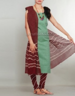 Batik Printing Salwar Kameez_161