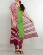 Batik Printing Salwar Kameez_164