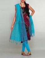Batik Printing Salwar Kameez_166