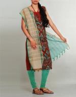 Batik Printing Salwar Kameez_168