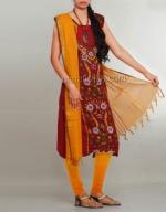 Batik Printing Salwar Kameez_169