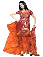 Batik Printing salwar Kameez_71