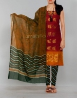 Online Batik Printing Salwar Kameez_184