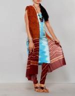 Online Batik Printing Salwar Kameez_185