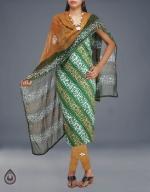 Online Batik Printing Salwar Kameez_195