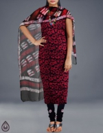 Online Batik Printing Salwar Kameez_201