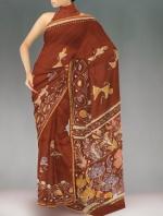 Batik Printing Sarees_104