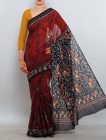 Batik Printing Sarees_175