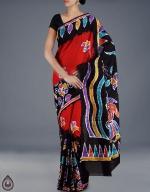Shop Online Batik Printing Sarees_217