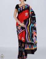 Shop Online Batik Printing Sarees_247