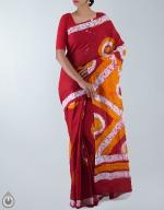 Shop Online Batik Printing Sarees_263