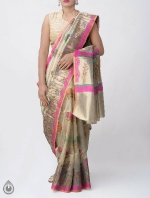 Shop Online for Banarasi Tissue Saree_7