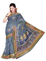 Online Tussar Silk Sarees_10