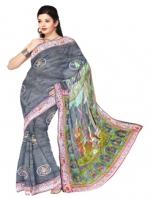 Online Tussar Silk Sarees_9