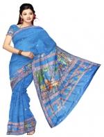 Online Tusser Silk Saree_11