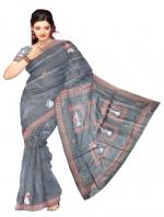 Online Tusser Silk Saree_20